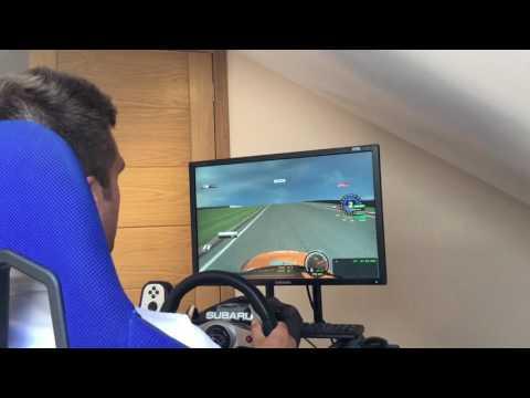 Oulton Park Sim Lap with Colin Turkington