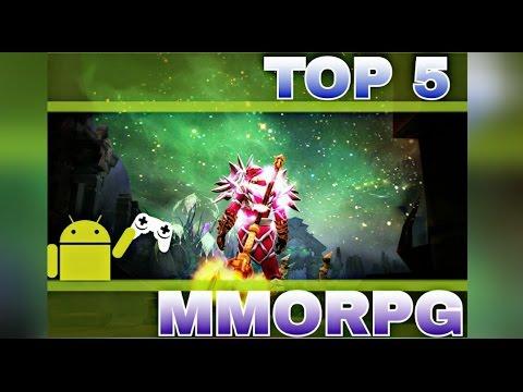 ТОП 5 ММОРПГ НА АНДРОИД / TOP 5 MMORPG