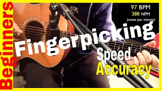 Fingerpicking Guitar Exercises-Speed and Accuracy