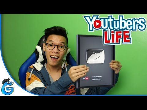 SILVER PLAY BUTTON PERTAMA GUE! - YOUTUBERS LIFE INDONESIA #5