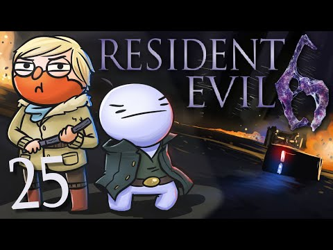 Resident Evil 6 /w Cry! [Part 25] - THE BEST THING EVER