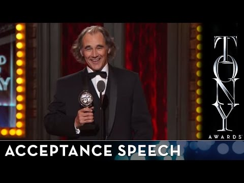 2014 Tony Awards: Acceptance Speech - Mark Rylance