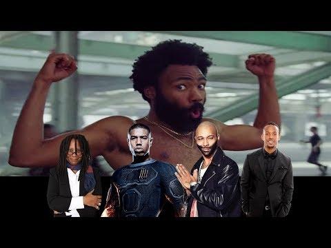 Celebrities React To 'This Is America' Music Video by Childish Gambino