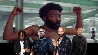 Celebrities React To 'This Is America' Music Video by Childish Gambino