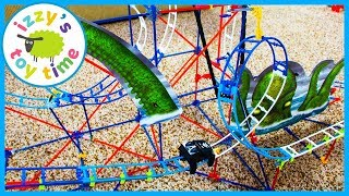 Cars for Kids! K'NEX THRILL RIDES! Fun Toys for Kids