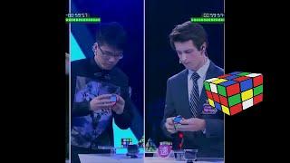 cubo rubik feliks zemdegs en the brain china semifinal ( en español)
