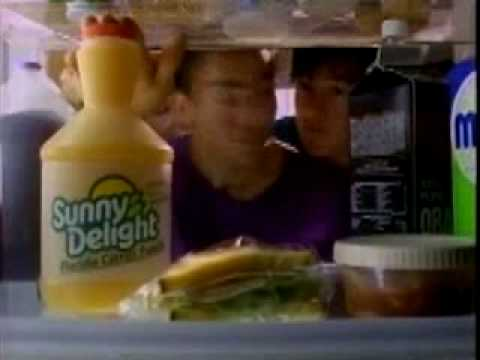 "This is the famous ""purple stuff"" Sunny D commercial."