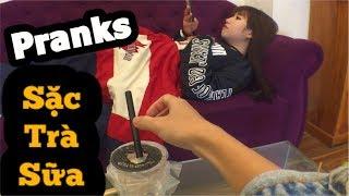 H&M CHANNEL | Cho Ớt Vào Trà Sữa Quá Đẳng Cấp  | CẶP ĐÔI BÁ ĐẠO