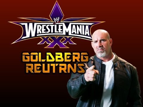 WWE News - Bill Goldberg returning to Wrestlemania 30