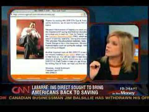Polly LaBarre on CNN s In The Money - clip 1
