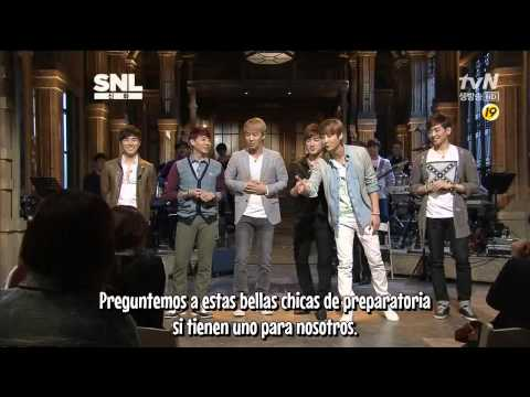 HD Shinhwa @Saturday Night Live (Spanish) 1/7