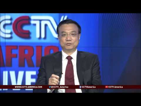 Chinese Premier Li Keqiang Delivered Speech Through CCTV Africa Bureau