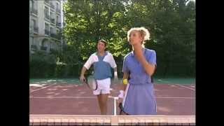 Un gars une fille - au tennis avec Jeannette & Roger