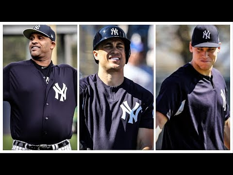 2018 Yankees Spring Training In Slow Motion (Ft. Stanton And Judge BP) ᴴᴰ