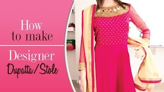 Download Class 39 - How to make your designer dupatta/stole 3Gp Mp4