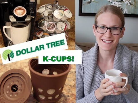DOLLAR TREE K-CUPS REVIEW!