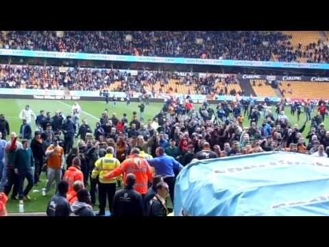 Molineux Pitch Invasion after losing to Burnley - 27/04/2013