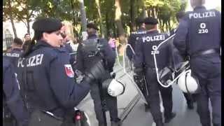 Zeichen setzen - Kundgebungen und Demo am 4.6.2014 in Wien