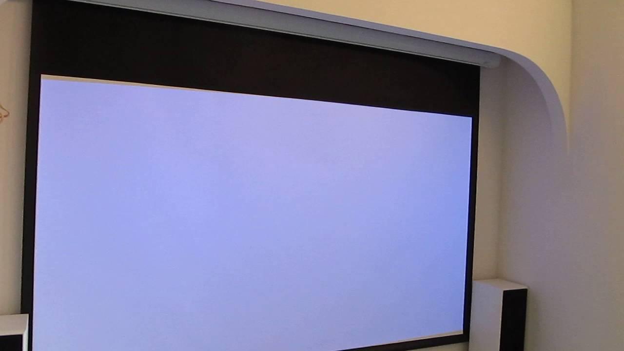 Экран для проектора своими руками баннер