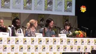 Walking Dead Cast At San Diego Comic Con 2014 (Death of Characters)