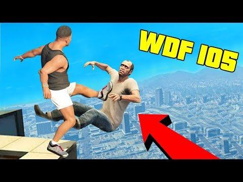 Приколы в GTA 5 | WDF 105 | Летающие тачки