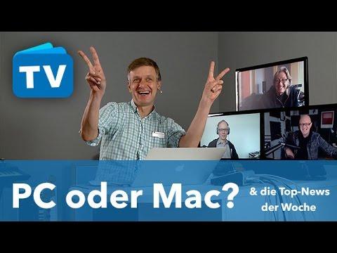 Stammtisch - Mac oder PC? & die Top-News der Woche
