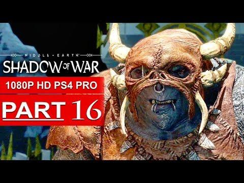 SHADOW OF WAR - WARCHIEF Boss Fight! - Shadow of War Gameplay Walkthrough - Part 5