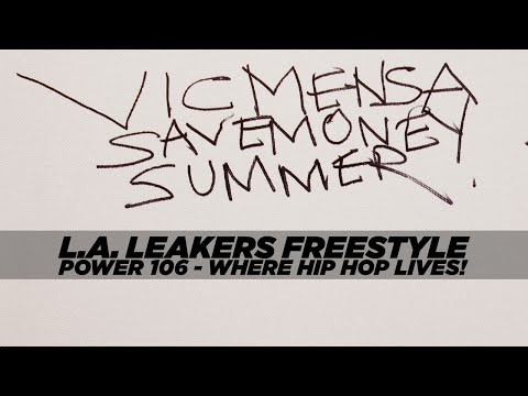 Vic Mensa 'Save Money Summer' L.A.Leaker's Freestyle