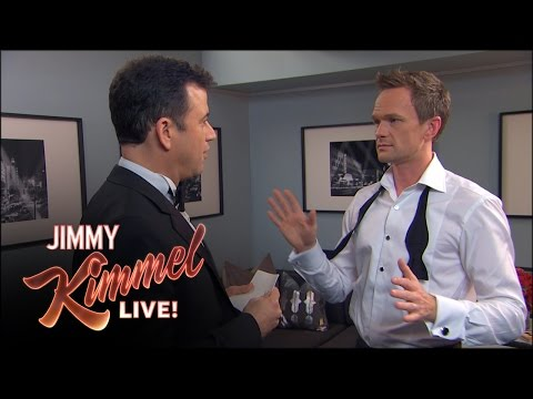Jimmy Kimmel Puts Neil Patrick Harris on the Spot After the Oscars