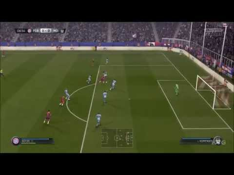 FIFA 15 - FC Bayern Munich vs Manchester City Gameplay (PC HD) [1080p]