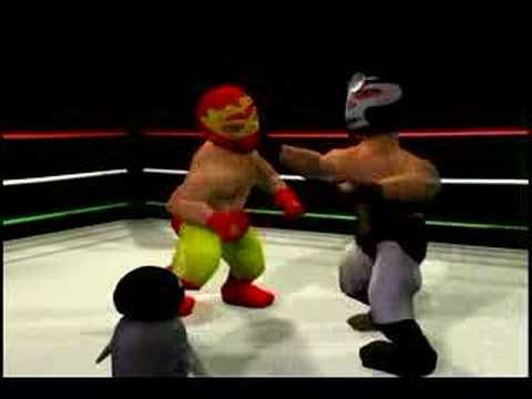 Your mexican midget wrestling Vega the