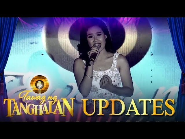 Jessa May Abaquita defends her title for the third time | Tawag ng Tanghalan Update