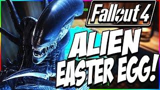 FALLOUT 4 Secrets & Easter Eggs: ALIEN (1979 Movie) USCSS Nostromo SECRET Code! *EXTREMELY HIDDEN!*