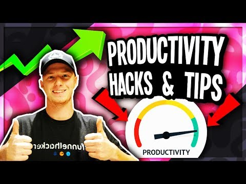 Productivity Hack and Tips for Entrepreneurs (Who Work at Home)
