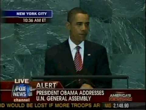 Obama's Address to the United Nations on Climate Change