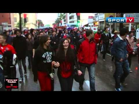 Rugby Finale H Cup RC Toulon vs Clermont Joie des Supporters Toulon Champion Stade Mayol 2013
