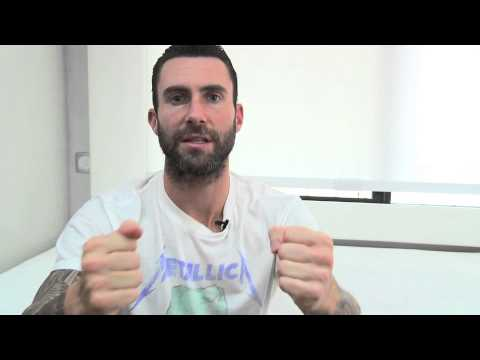 Adam Levine wants to see you on the Maroon 5 World Tour!
