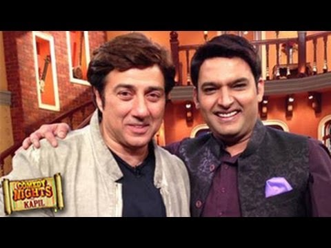 Sunny Deol on COMEDY NIGHTS WITH KAPIL 17th November 2013 Episode