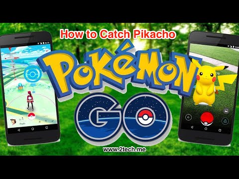 How to Catch Pikacho in Pokemon Go
