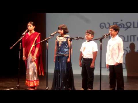 Pathu's Story Telling At Tamil Mazhai - Cary Tamil School video