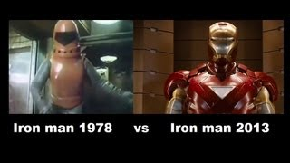 Iron man 1978 vs Iron man 2013 [ Transformation ]