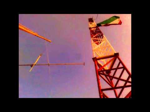 9K2UU Optibeam 5-20 chalet antenna part 1
