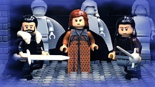 LEGO Game of Thrones Stop Motion : Crypts of Winterfell