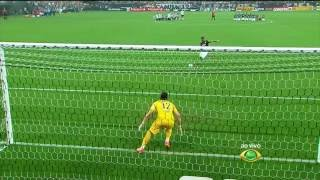 Pênaltis -  Corinthians 5 x 6 Palmeiras - Paulistão - 19/04/2015