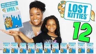12 LOST KITTIES A OUVRIR , Notre collection ! Unboxing Jouets nouveauté Hasbro