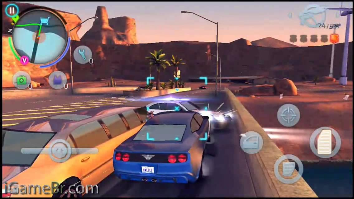 Gangstar Vegas بەهێزترین یاری بۆ ئایفۆن - ئایپاد
