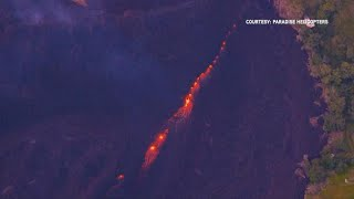 Massive volcano explosion in Hawaii spews smoke and ash