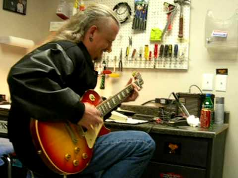 Jon Schaffer Visit to RS Guitarworks - Part 1