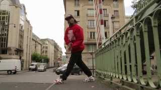 Fabrice in Canal St Martin Hiphop Dance Paris France   YAK FILMS