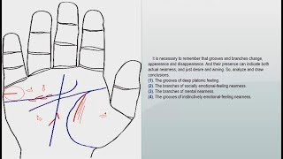 "MARRIAGE LINE AND CHILDREN LINE, ""FEELINGS AND CHILDBEARING"" 